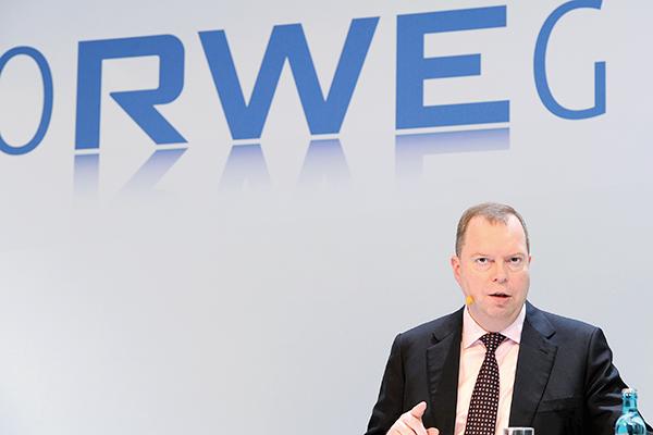 RWE Bilanzpressekonferenz 2013: Peter Terium, Vorstandsvorsitzender der RWE AG