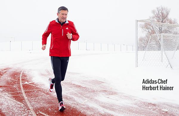 Adidas-Chef Herbert Hainer